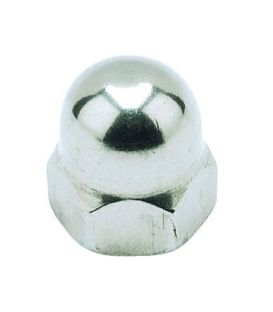 M4 Hexagon Dome Nut - A4 Stainless Steel DIN1587 5