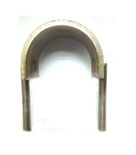 U-Strap Galvanised steel 100 mm Inside Diameter