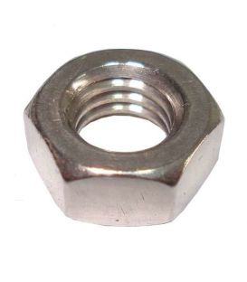 UNC Hexagon full nut 1/4 inch -20 A4 Stainless Steel