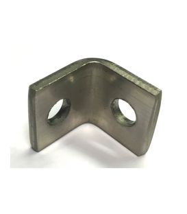 Angle Bracket -  20x3 mm T316 (A4) Stainless Steel 7 mm holes