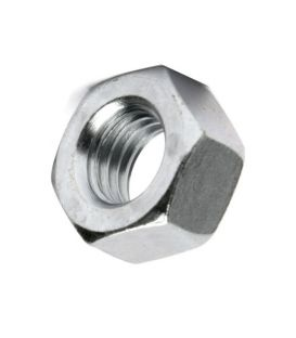 M5 Hex Nut - Bright Zinc Plated (BZP) DIN934 - Left Hand Thread