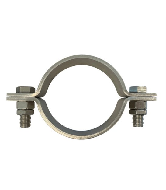 Pipe Clip: 2 Bolt - Full Range of British Standard clips for steel and cast iron pipes (BS 3974: Part 1: 1974)