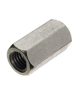 M6 Tiebar Connector - BZP - Coupling Nut DIN 6334