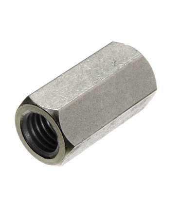M10 Tiebar Connector - T316 Stainless Steel - Coupling Nut DIN 6334