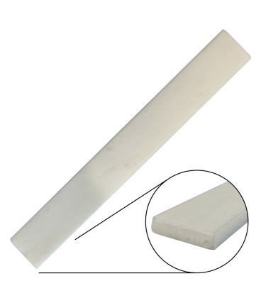 White PTFE Strip 25 mm x 6mm  x 1 meter