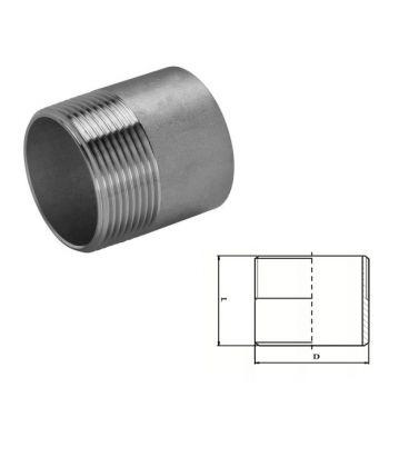 Stainless Steel Welding Nipple (A2 / T304) BSP Parallel Threads (BSPP / G Thread)