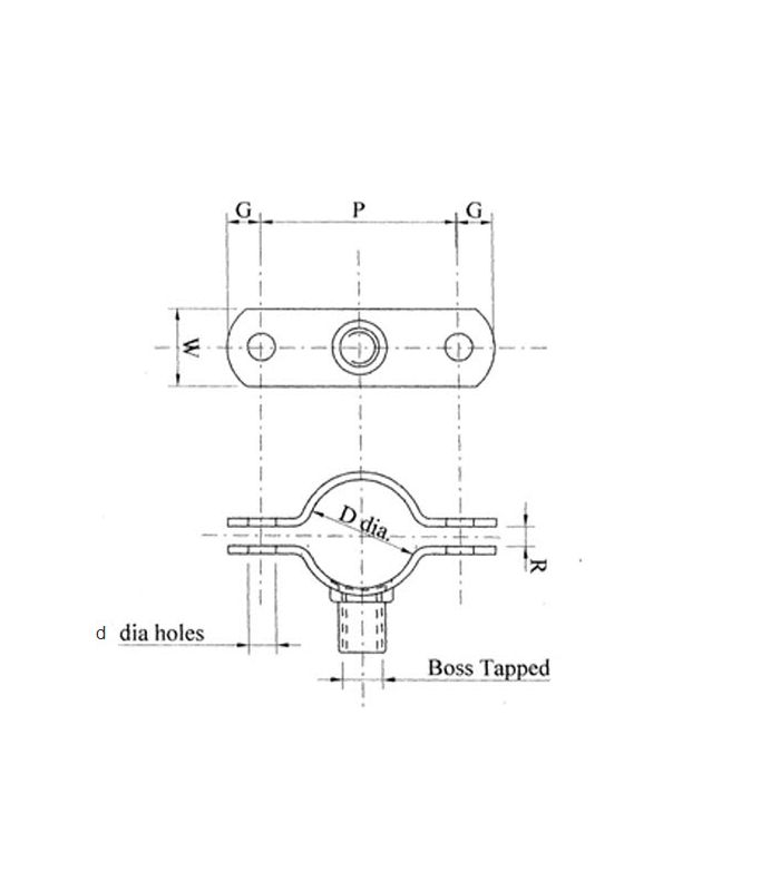 Munsen Ring Pipe Clamp Schematic