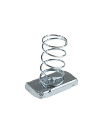 Oglaend M6 Long Spring Nut for Channels T316 Stainless Steel (As Unistrut)