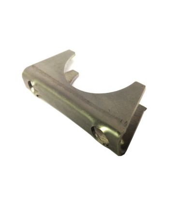 Universal Exhaust Pipe Cradle, Standard and Heavy Duty,  Zinc Plated and Stainless Steel