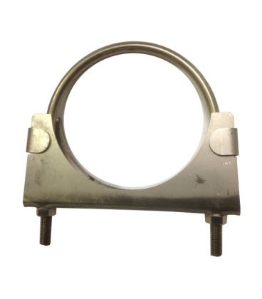 Heavy duty exhaust / hose clamp -  T304 & T316 Stainless Steel