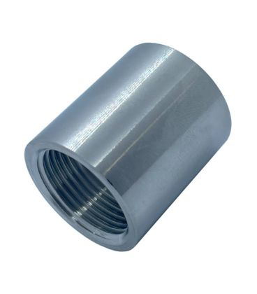 BSP Socket / Coupling - Full & Half -  T316 (A4) Stainless Steel - Parallel Threads (BSPP / G Thread)