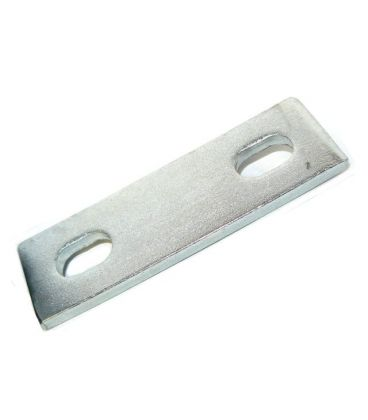Slotted backing plate for M12 U-bolt (45 - 75 mm ID) Zinc Plated Steel