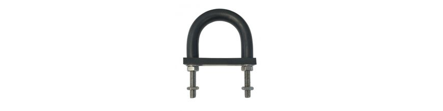 Insulating Rubber Lined U-Bolts
