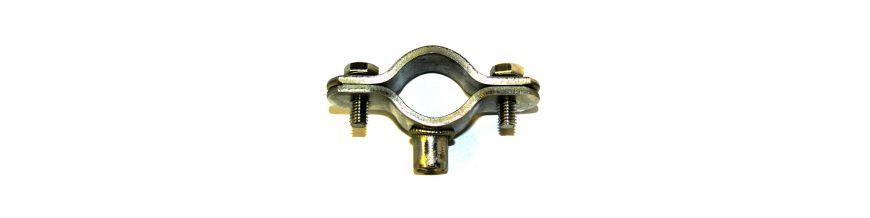 1206 Series Munsen rings, bossed pipe clamps