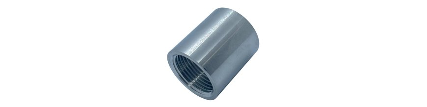 BSP Threaded Coupling - Not rated - T316 (A4) Marine Grade Stainless Steel