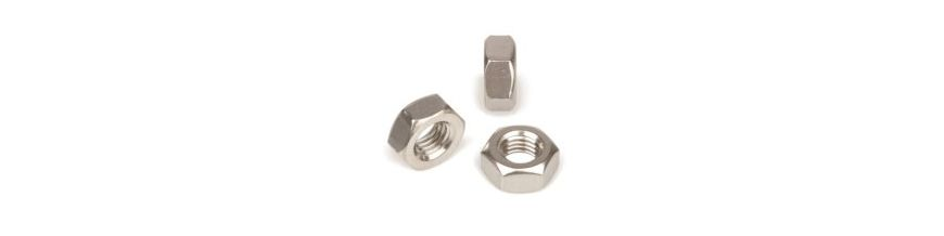 Zinc Plated Left Hand Thread Nuts