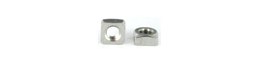 Din 557 Chamfered Square Nuts - Stainless Steel