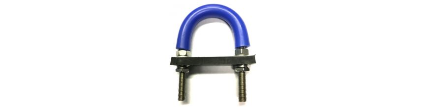 Rubber Lined U-Bolts