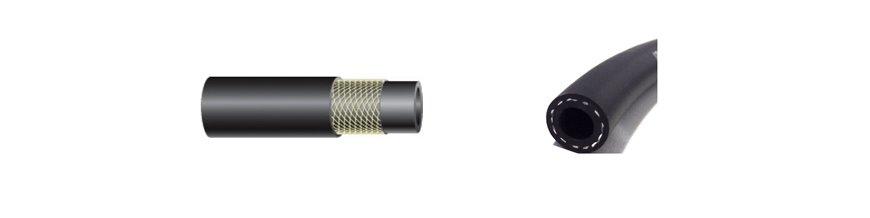 Black Rubber Hydraulic Hose - ISO 2398 4A ID
