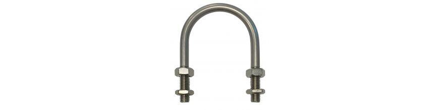 British Standard gripping U-bolts