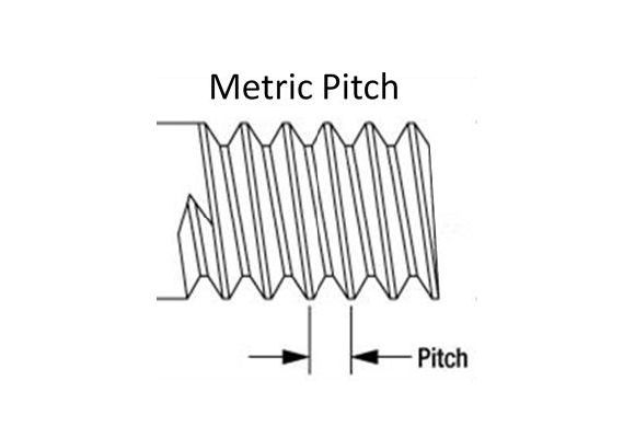 Metric Thread Pitch dimensions
